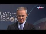 Жеребьёвка 1/8 финала Лиги чемпионов 2013/2014 (16/12/2013) Eurosport HD RU